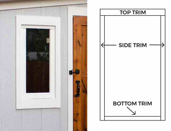 installing a window in a shed framing are you wondering how to build leanto roof for shed here how install siding trim on shed