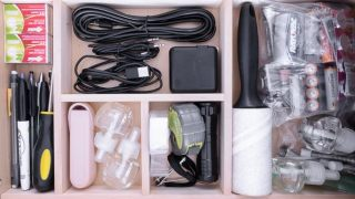 DIY Junk Drawer Organizer (At Home DIY February) | By Brittany Goldwyn | Live Creatively