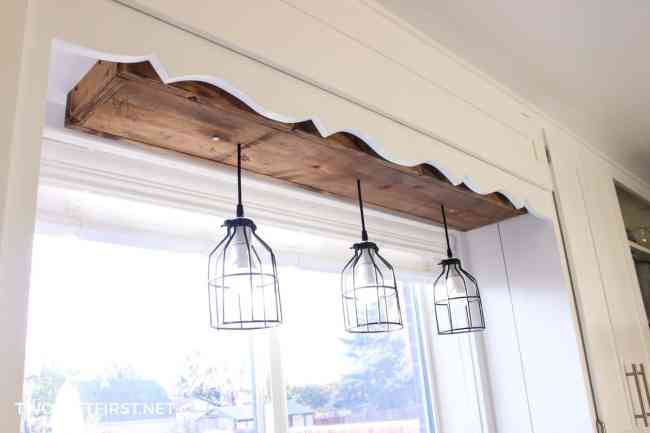Looking for a way to update your kitchen? Then it's time to look at the lighting! Here is a custom pendant light you can build.
