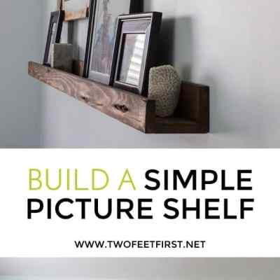 Build A Picture Shelf