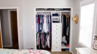 Build a Closet System with Drawers
