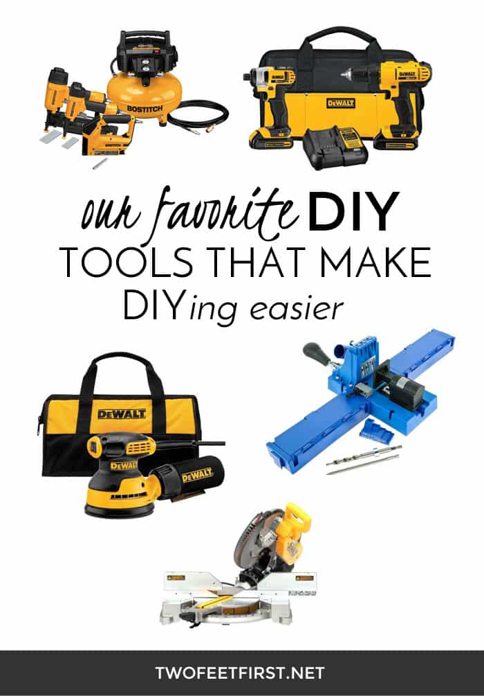 5 of our favorite DIY tools that make DIYing easier!