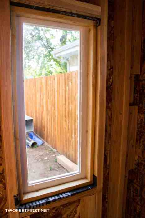 install old wooden windows