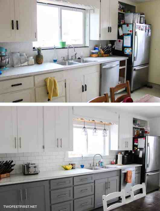 Update Kitchen Cabinets Without Replacing Them By Adding Trim - How to update kitchen cabinets without replacing them