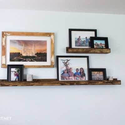 Build A Picture Shelf