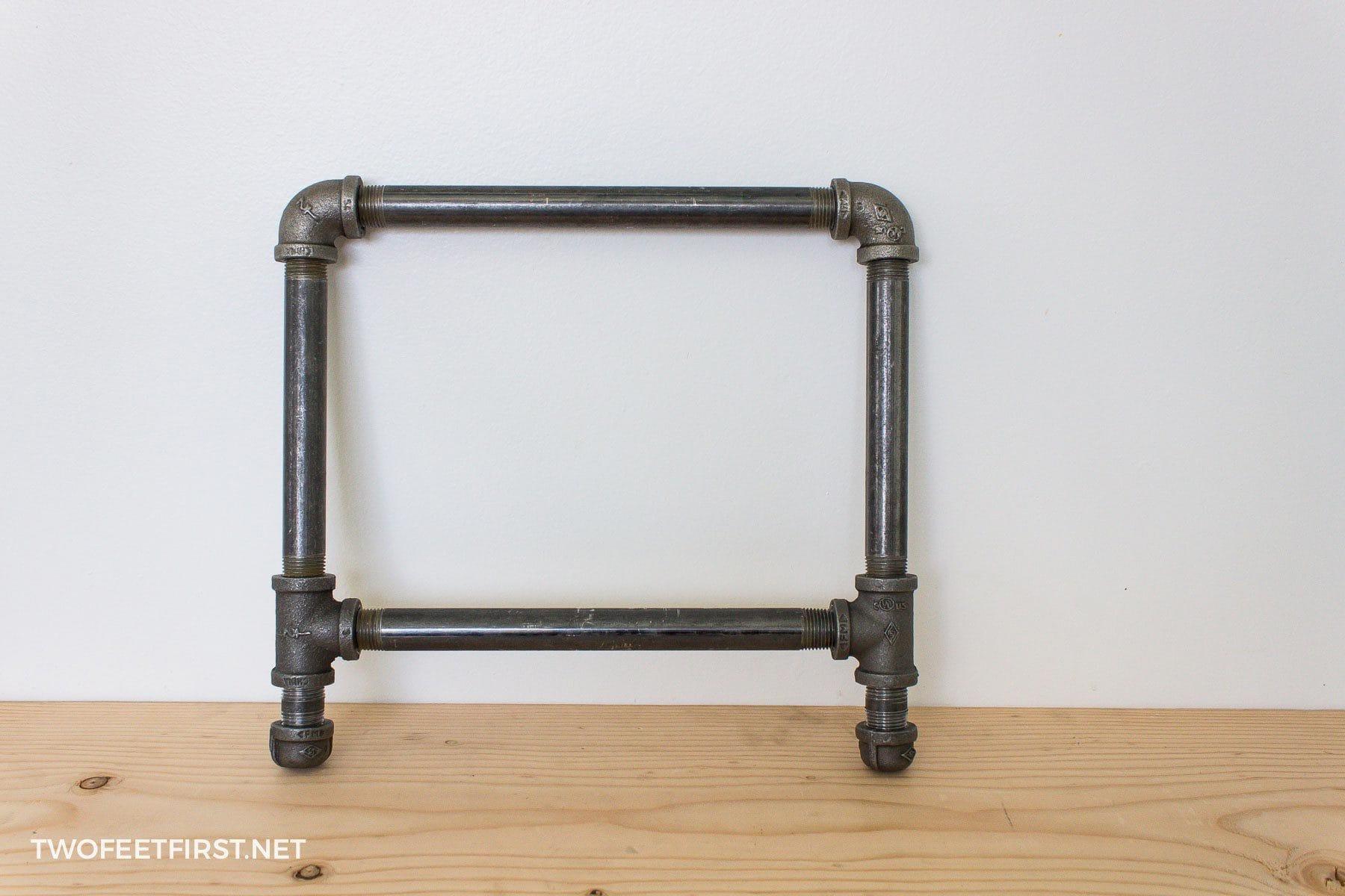 pipe frame for shoe rack