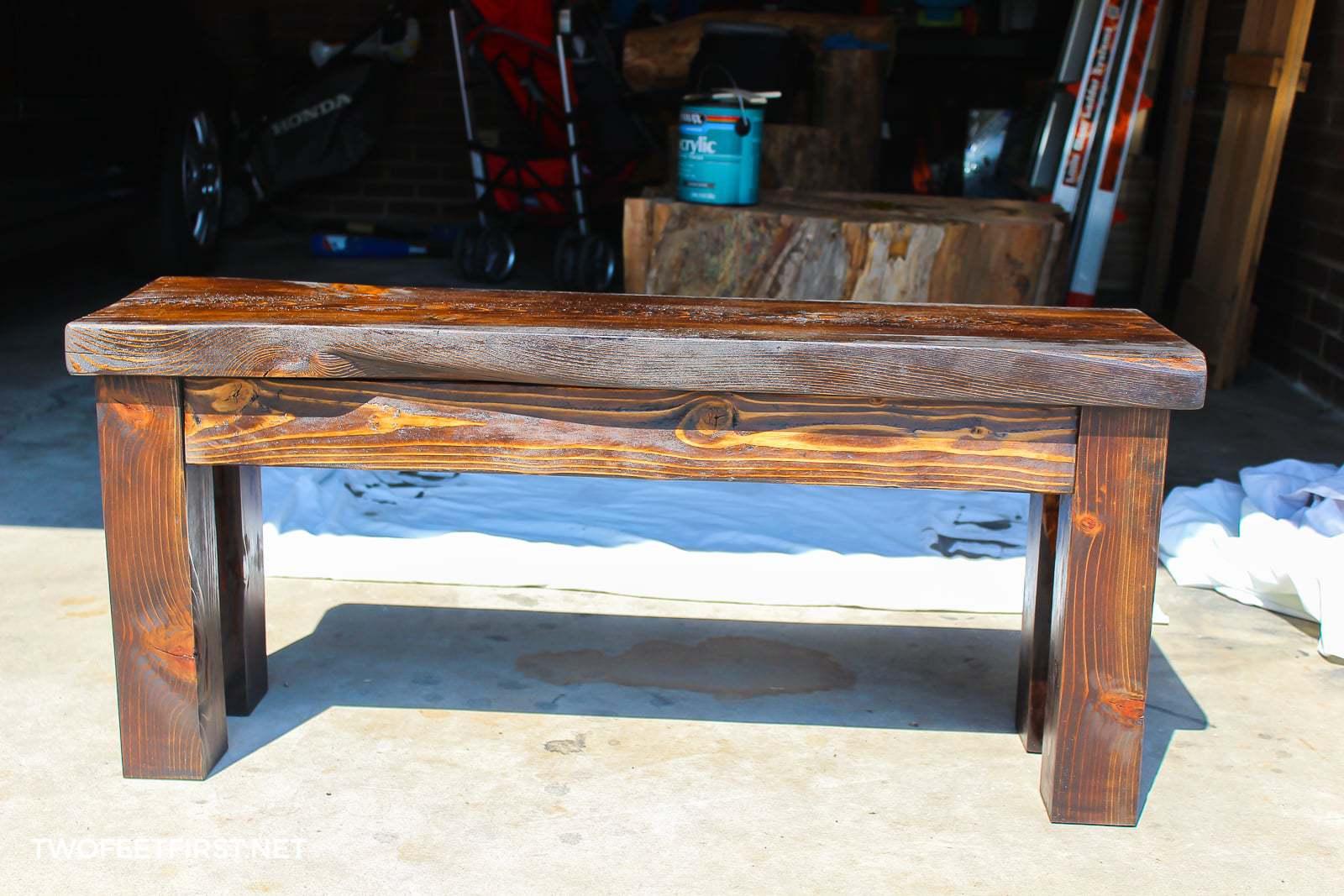 Diy Wood Bench