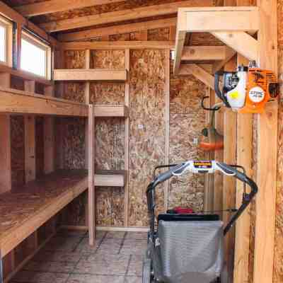 Build Storage Shelves for a Shed or Garage