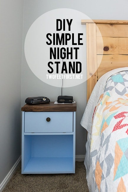 DIY simple night stand