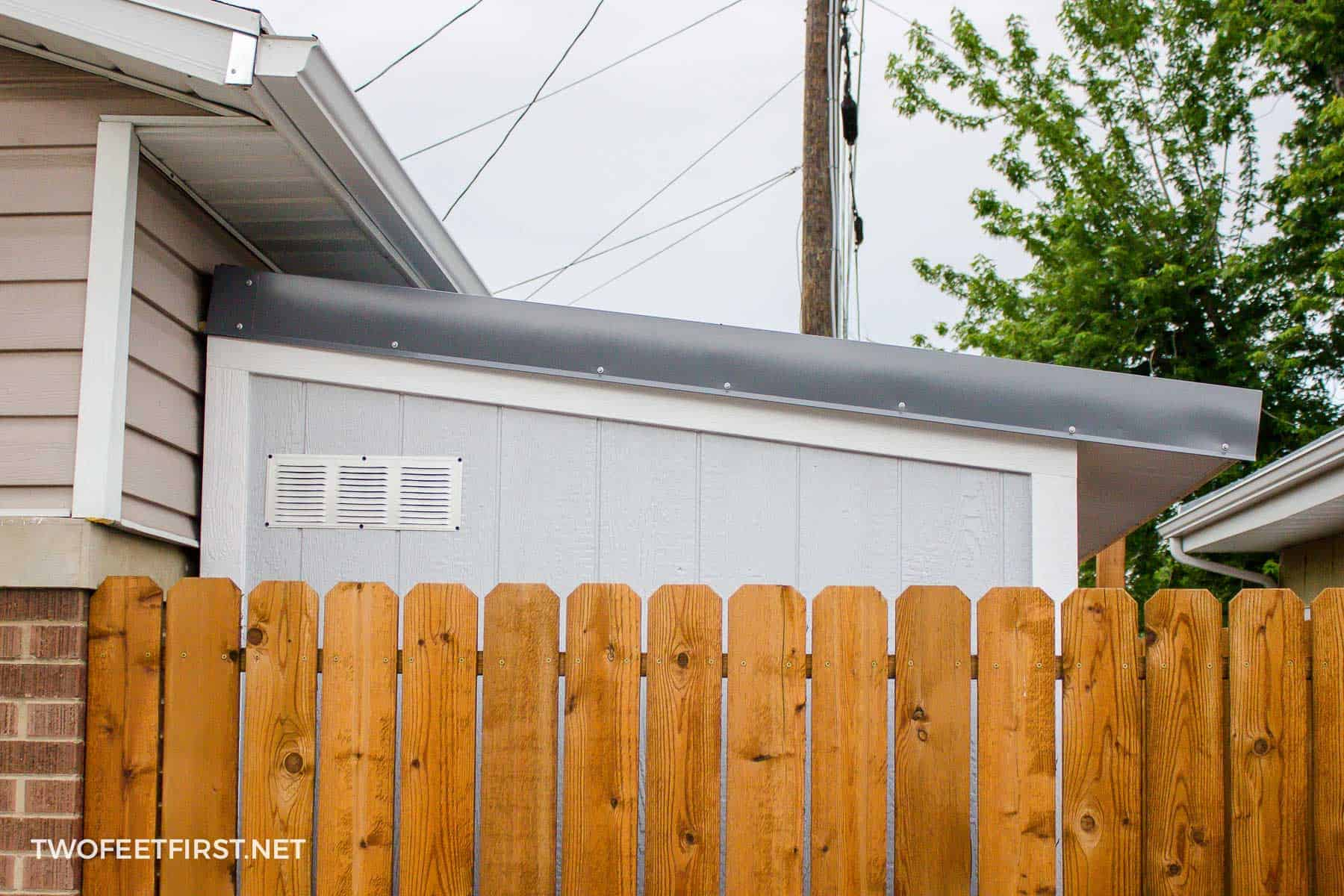 vent on a shed