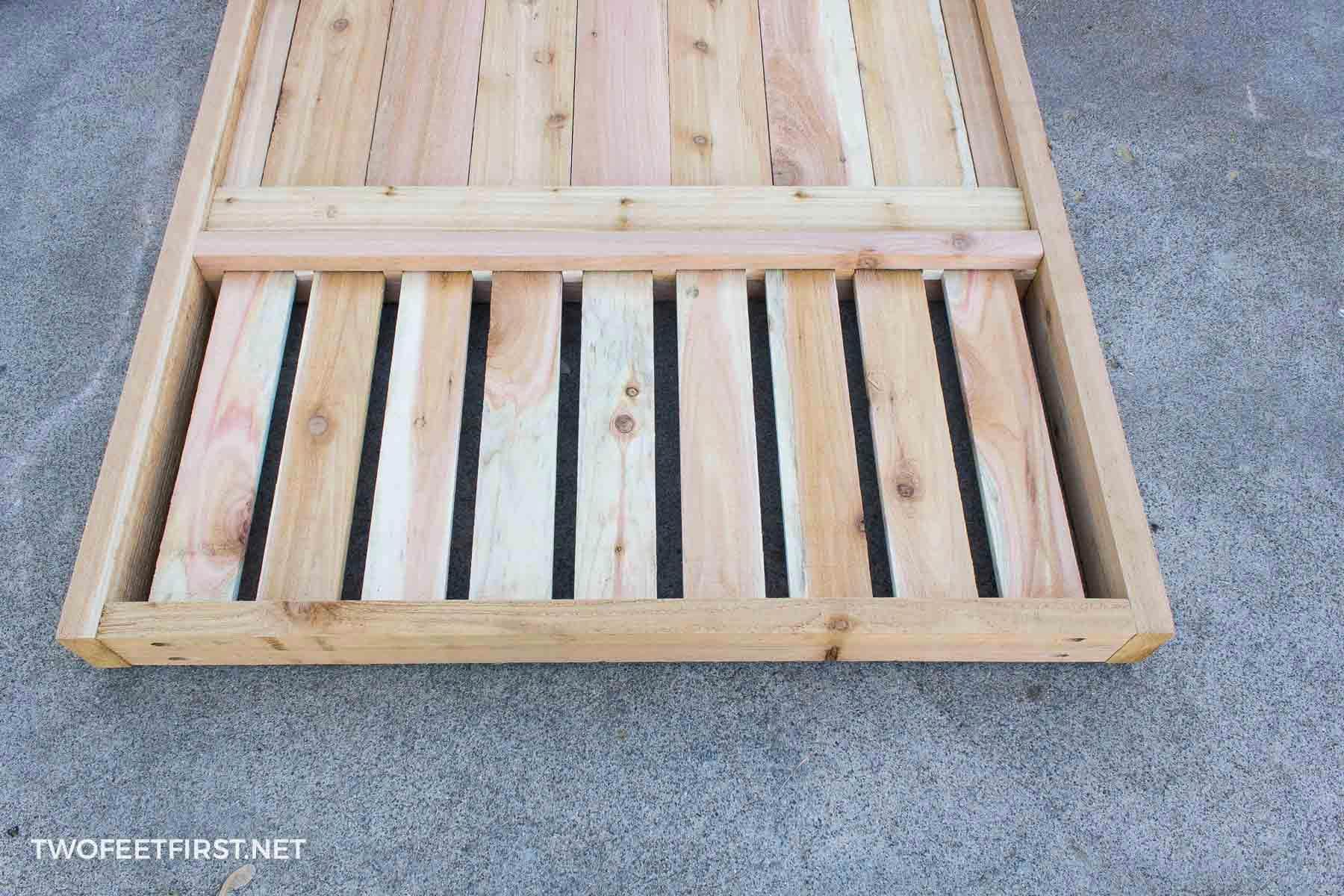 wood slats for gate