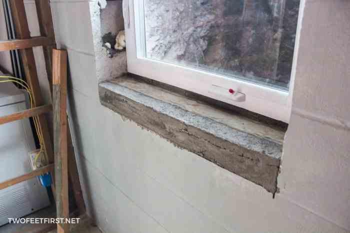 installing new egress windows in basement