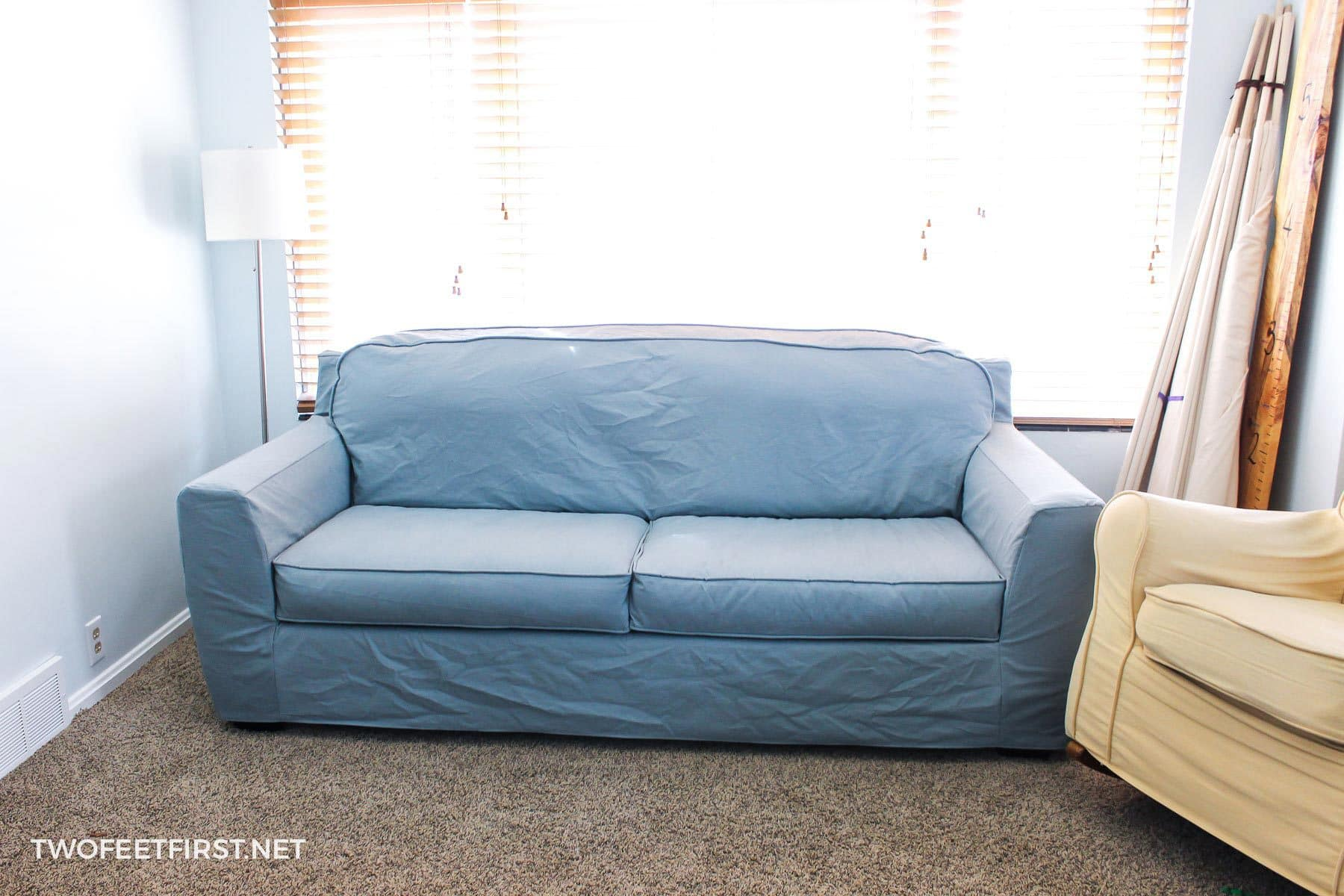 Create A Slipcover For A Sofa