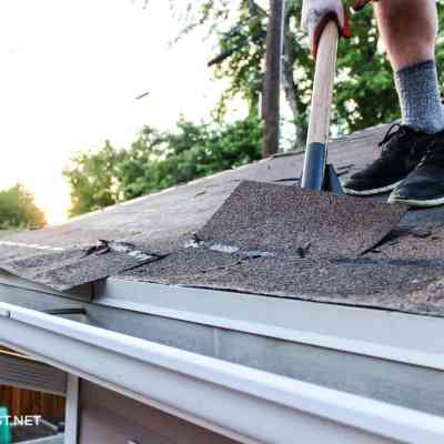 Re-shingling a roof – PART 1