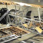 skeleton airplane