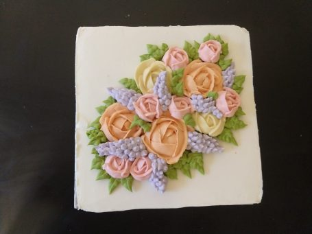 Classic floral cake