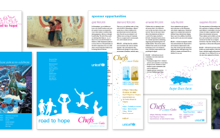 Layouts for Chefs Gala 2005 – 2009