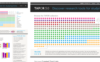 TAPoR: Text Analysis Portal for Research