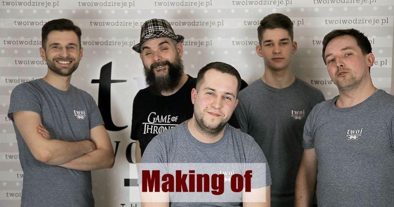 BBS (Blog Bardzo Subiektywny) #15 – Making of (2018) I vlog wodzireja