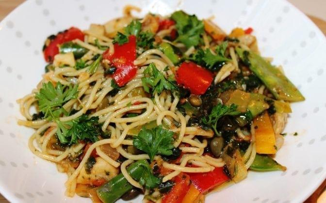 Fresh Vegetable Pasta
