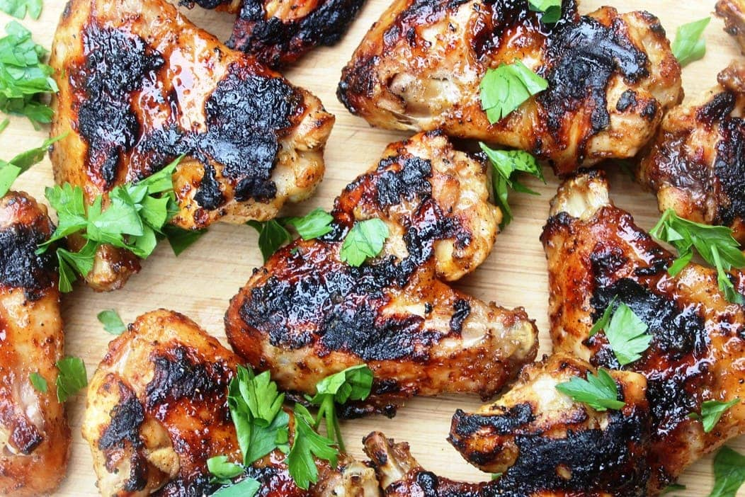 Grilled Chili Lime Chicken Wings