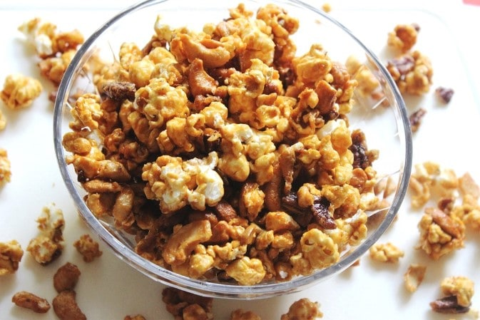 Best Ever Caramel Popcorn