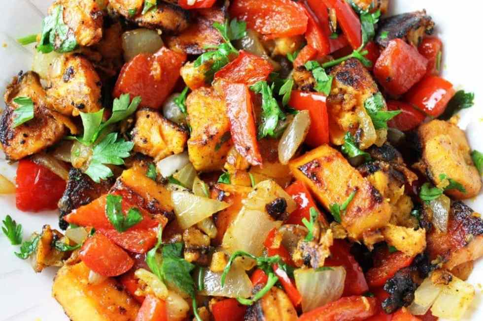 Vegetarian Sweet Potato Hash