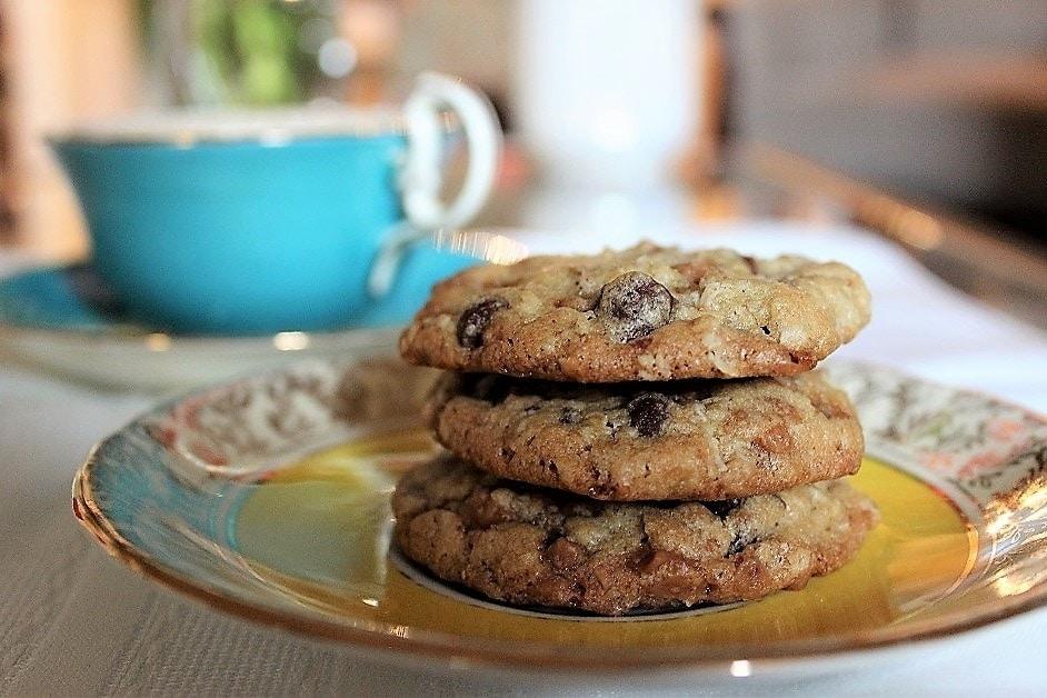 Skor-Chocolate Chip cookies