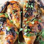Orange Teriyaki Butterflied Chicken