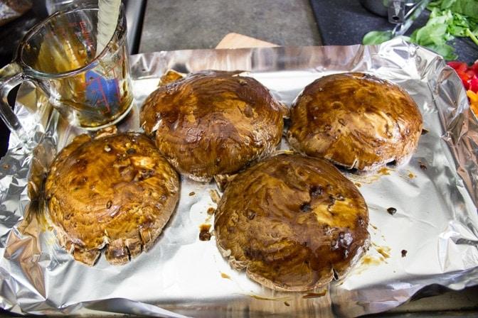 marinate mushrooms