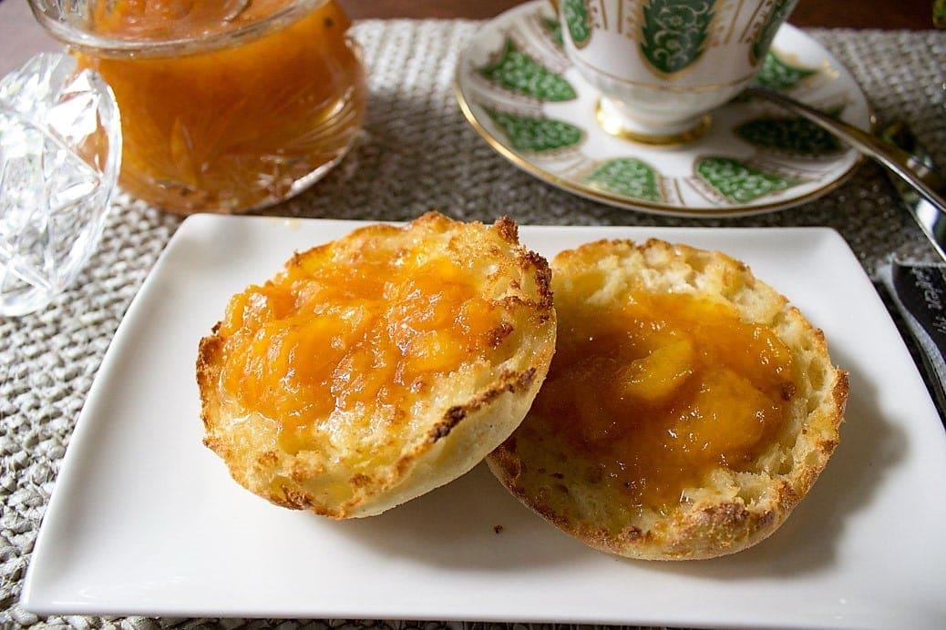 Peach Marmalade (no pectin)