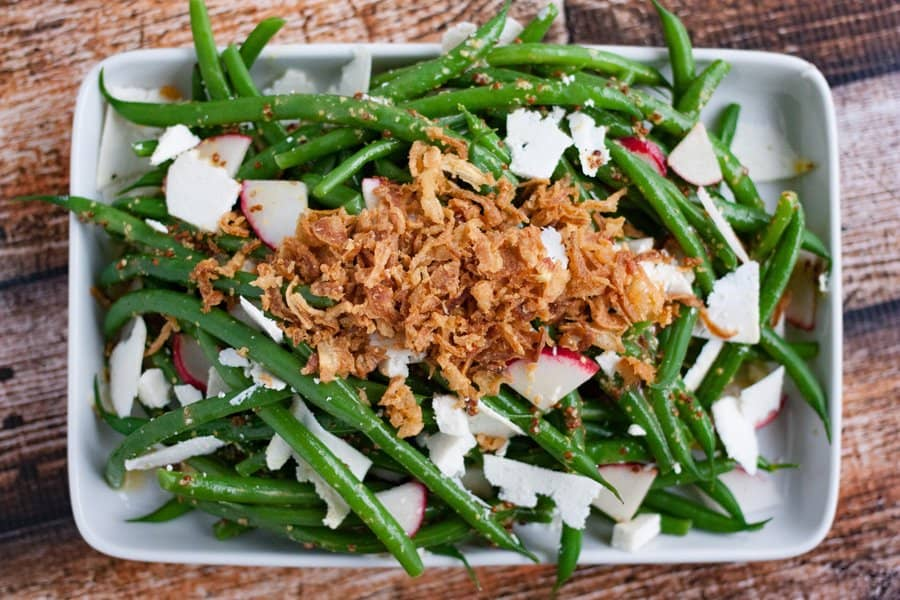 green bean salad for thanksgiving