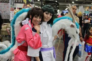 Sen and Haku from Spirited Away