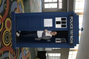 I decided to check out the Tardis before leaving