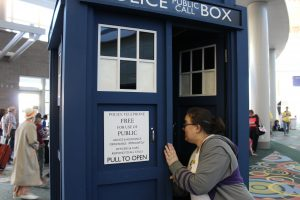 This Tardis was not bigger on the inside.