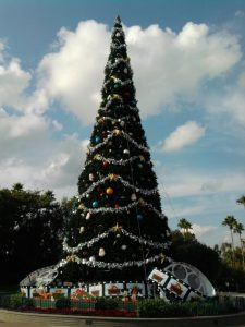 The Christmas Tree at Hollywood Studios in 2009