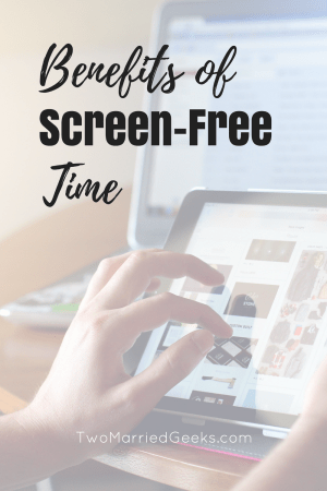 The benefits of screen-free time each week can help in this world filled with tv watching and social media. See the benefits in this post now.