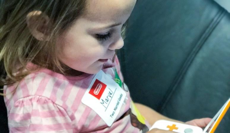 Handheld Gaming for Preschoolers