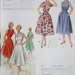 8946 + 9661 Mccalls 1954 Winter Vintage Pattern | 1950s Two Old Beans Vintage Clothing