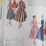 9241 + 9783 Mccalls 1954 Winter Vintage Pattern | 1950s Two Old Beans Vintage Clothing