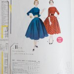 3003 Mccalls 1954 Winter Vintage Pattern | 1950s Two Old Beans Vintage Clothing