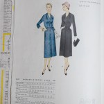 3018 Mccalls 1954 Winter Vintage Pattern | 1950s Two Old Beans Vintage Clothing