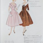 9956 Mccalls 1954 Winter Vintage Pattern | 1950s Two Old Beans Vintage Clothing