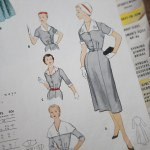 3033 Mccalls 1954 Winter Vintage Pattern | 1950s Two Old Beans Vintage Clothing