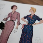 9575 Mccalls 1954 Winter Vintage Pattern | 1950s Two Old Beans Vintage Clothing
