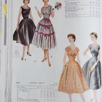 9637 + 9829 Mccalls 1954 Winter Vintage Pattern | 1950s Two Old Beans Vintage Clothing