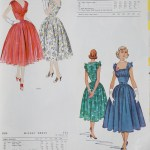 9791 + 9379 Mccalls 1954 Winter Vintage Pattern | 1950s Two Old Beans Vintage Clothing