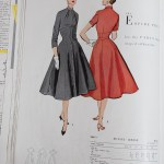9847 Mccalls 1954 Winter Vintage Pattern | 1950s Two Old Beans Vintage Clothing