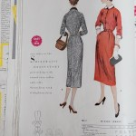 9851 Mccalls 1954 Winter Vintage Pattern | 1950s Two Old Beans Vintage Clothing
