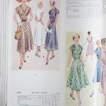 8118 + 8936 Mccalls 1954 Winter Vintage Pattern | 1950s Two Old Beans Vintage Clothing